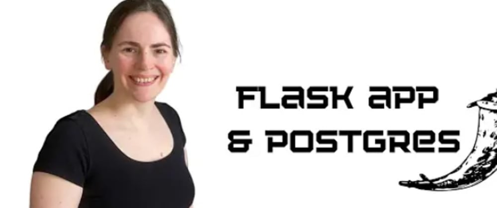 Cover image for Flask app with postgreSQL