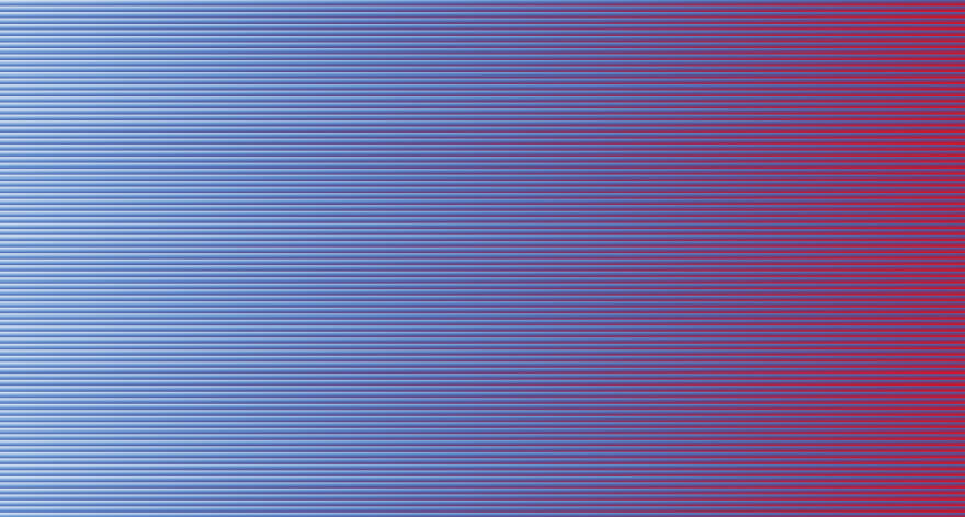 A web page with linear gradient