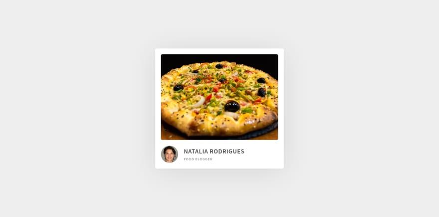 Food Blog Result Demo