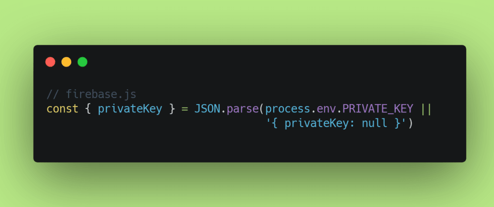Cover image for How to Store a Long Private Key in Vercel's Environment Variables