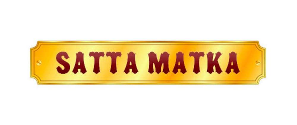 Cover image for Satta Matka