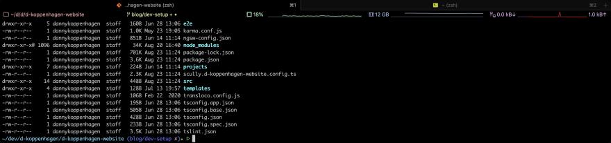 Screenshot: iTerm2