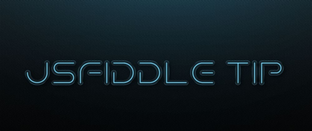 Cover image for View JSFiddle Result In A New Tab/Window