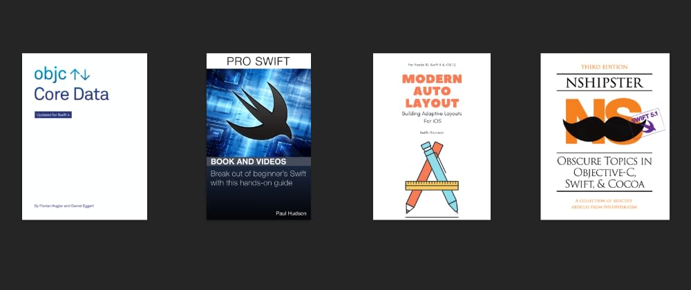 Cover image for iOS: Few book recommendations that will make you a better developer