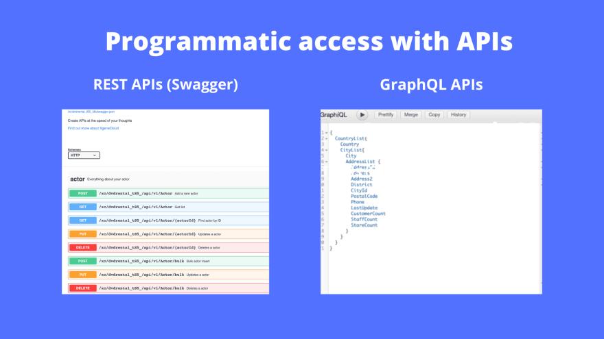 NocoDB: programmatic API access