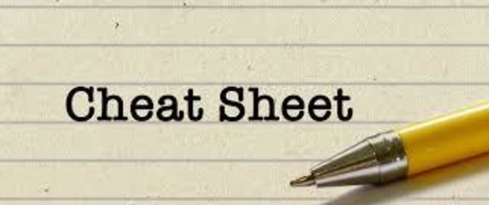 Cover image for Developers cheat sheets