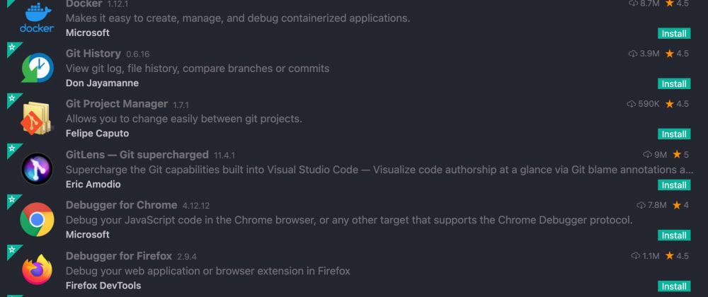 Cover image for Our Top 10 Visual Studio Code Extensions