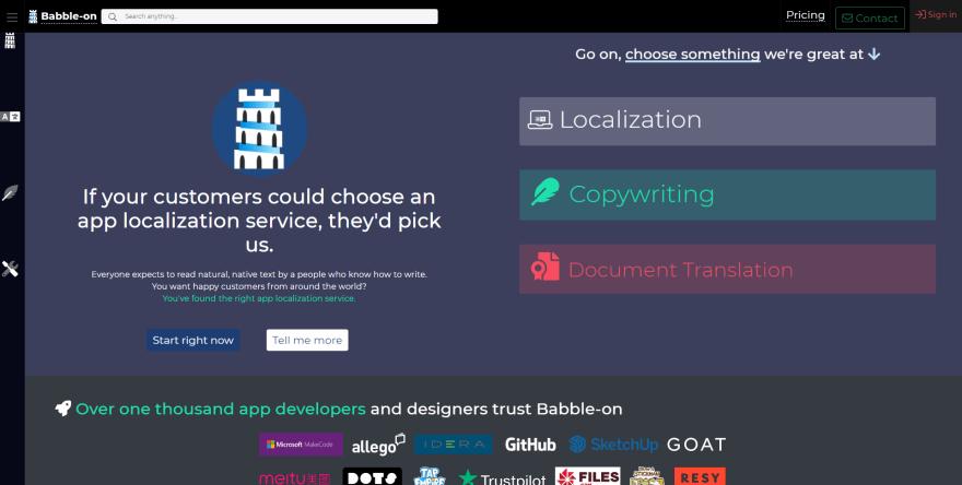 IBabbleOn.com Homepage