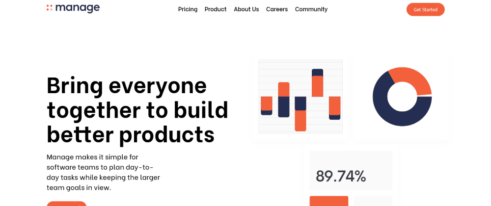 Cover image for Amazing Front-End Mentor Landing Page - Made with HTML, CSS, and JavaScript