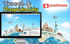 Push Notifications Usages in Travel Industry