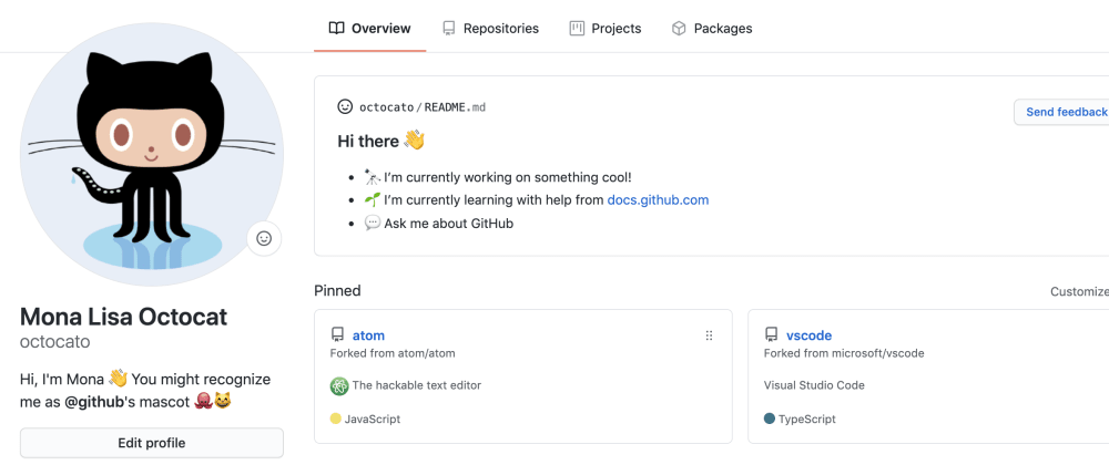 Cover image for I present my Github Profile