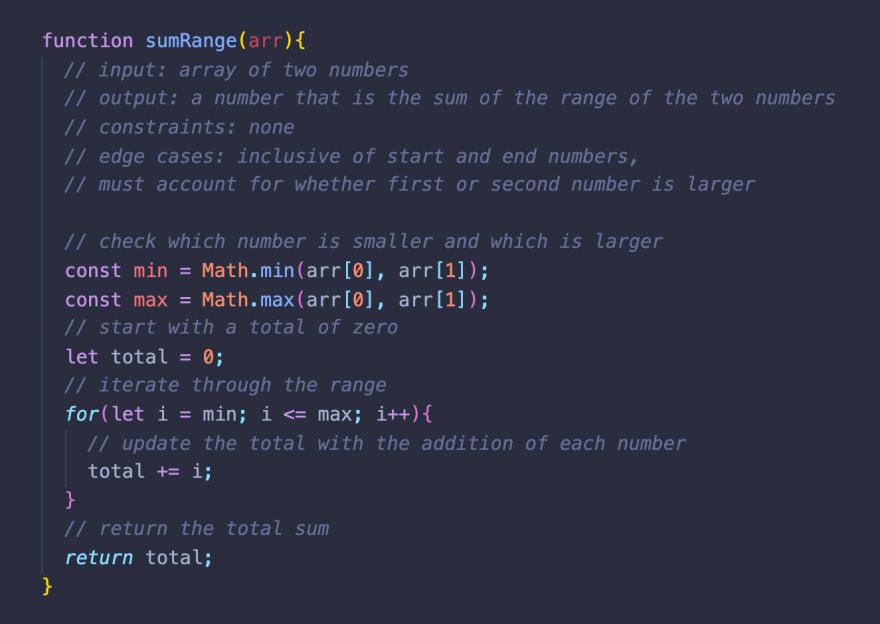 pseudocoding example step 3