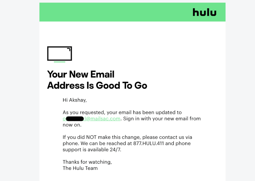Why don't Hulu or Netflix use 2-factor authentication?