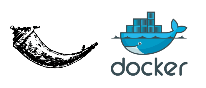 Logomarcas Flask e Docker