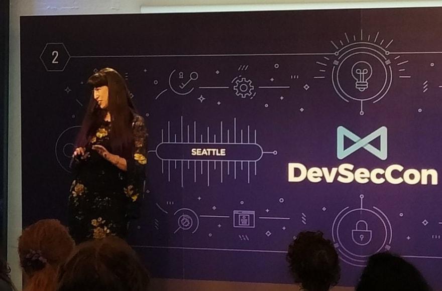 Q&A at #DevSecCon Seattle, 2019