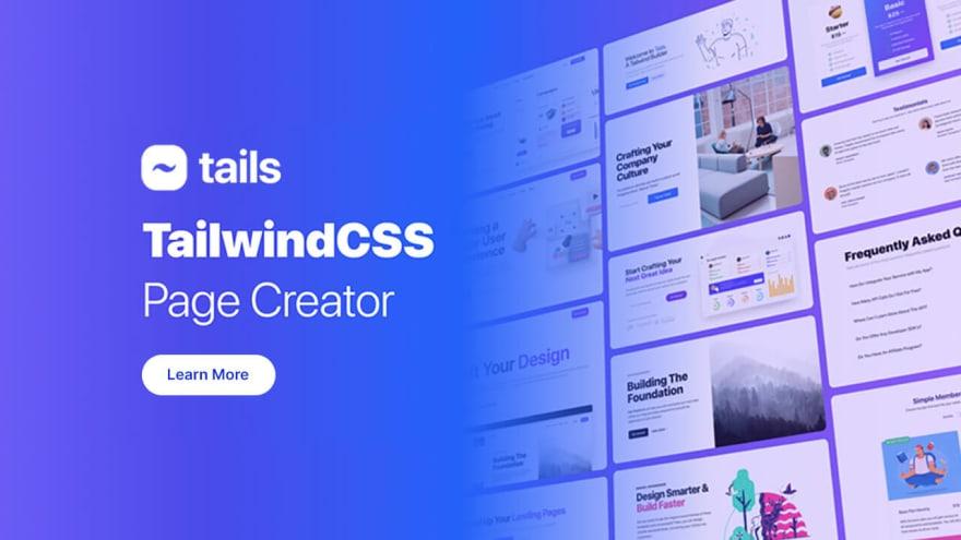 Tails TailwindCSS Builder