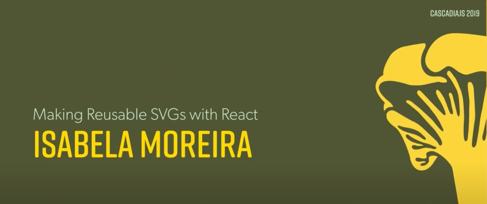Cover image for #30DaysOfCJS: Making Reusable SVGs with React
