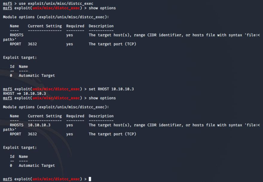 msf-distccd-exploit-options