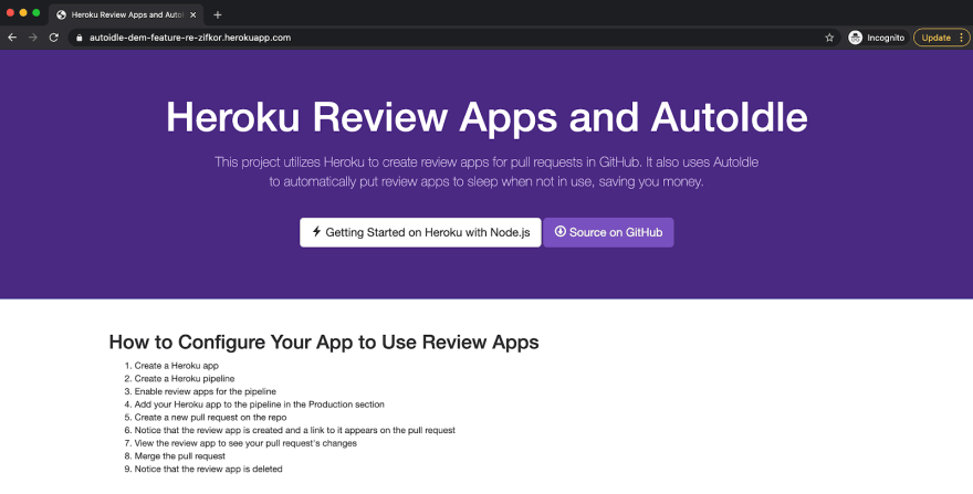 Our review app is awake and active again