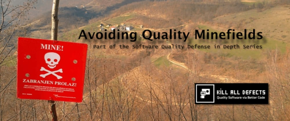 Cover image for Avoiding Quality Minefields