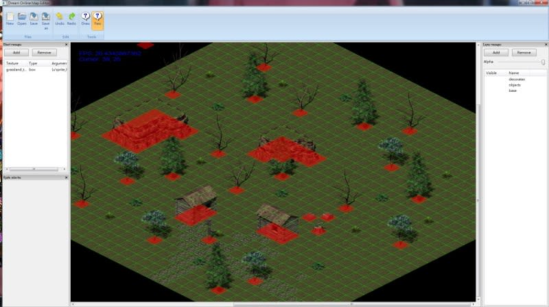 More screenshot from of later version MMORPG