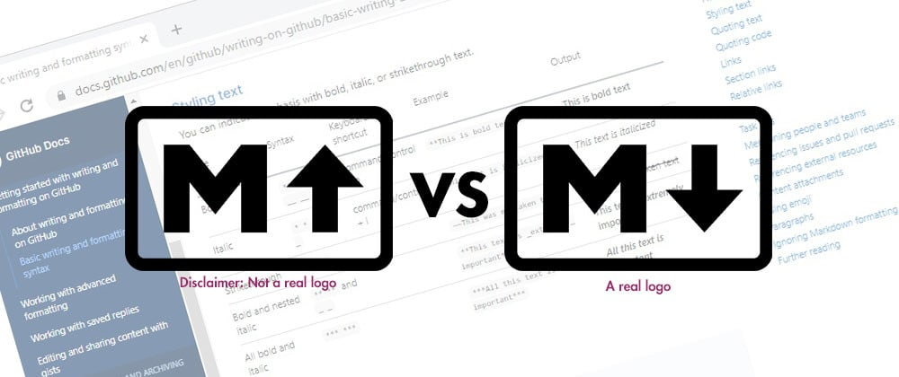 Cover image for Markup vs Markdown - what's the difference?