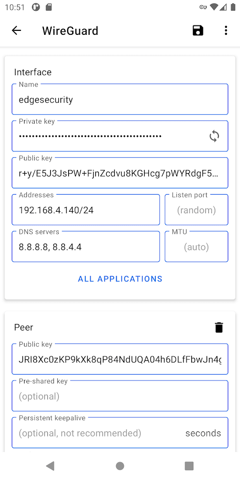 Wireguard Android