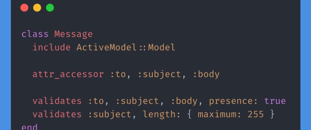 Cover image for Rails Design Patterns: Form Object