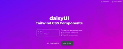 Daisy UI website
