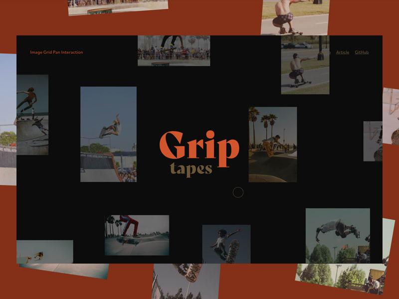 Image Grid Motion