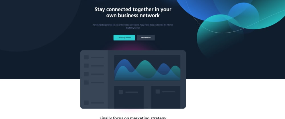 Cover image for Free HTML5 CSS3 Landing Page Template 2021 🚀
