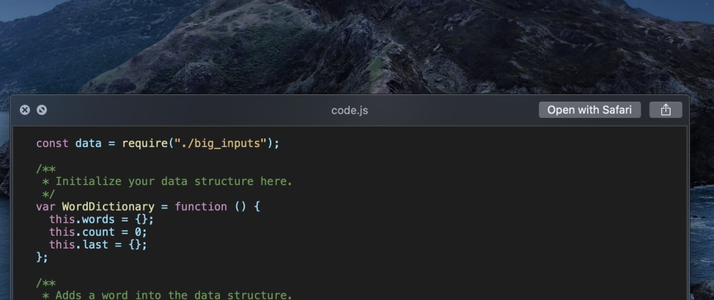 Cover image for A better code Quick Look