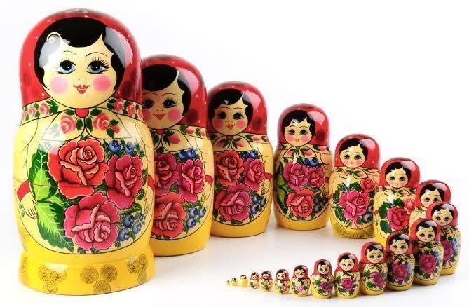 Image result for recursion russian dolls