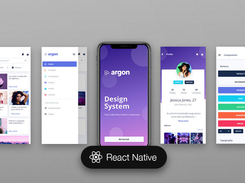 Argon React Native