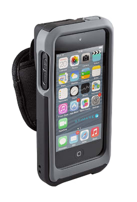 Hardened iPhone case with barcode scanner