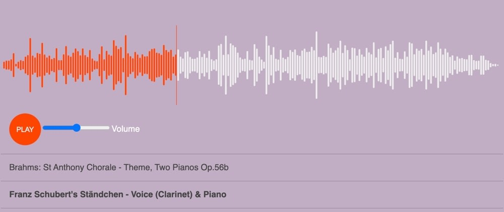 Cover image for Audio Player with Wavesurfer.js & React 🏄🏽♂️