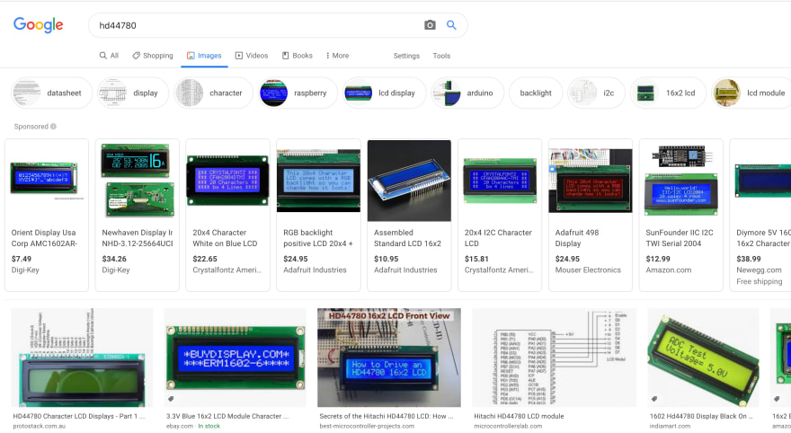 HD44780 | Google images
