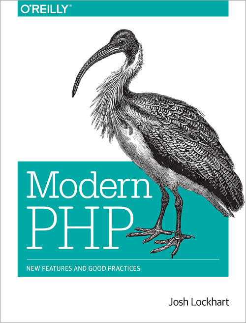 Modern PHP book cover