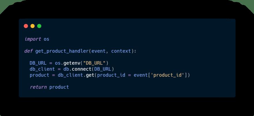 Bad initializing lambda function handler