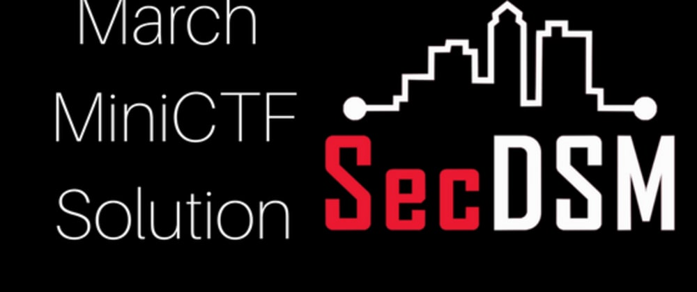 Cover image for AWS and Messy Git Practices: SecDSM March MiniCTF Solution