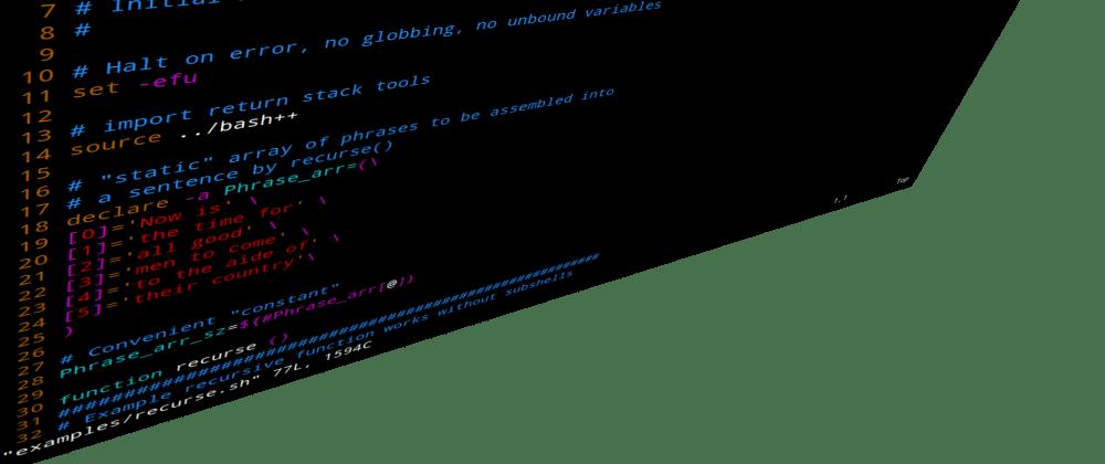 Cover image for Bash++ Return Stack