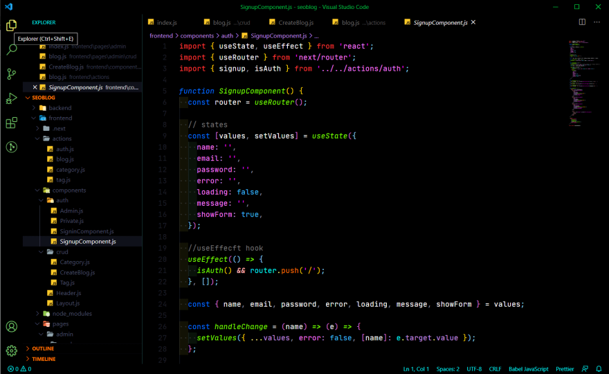 VS Code Theme