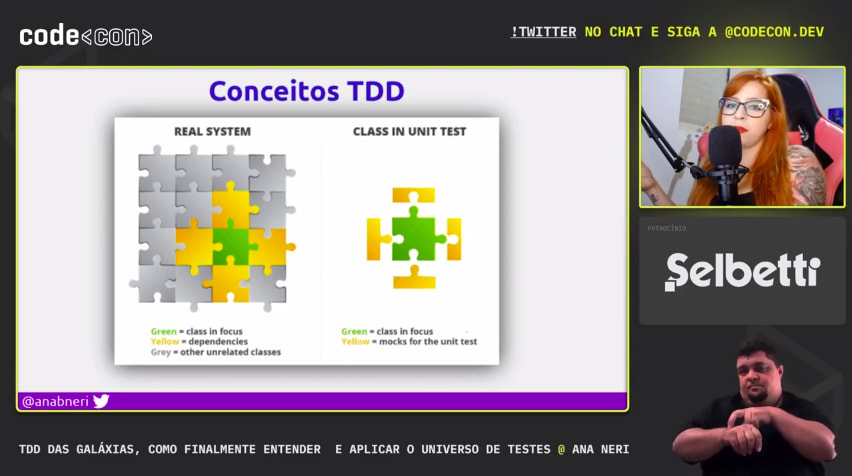 Galaxies TDD, how to finally understand and apply the tests universe