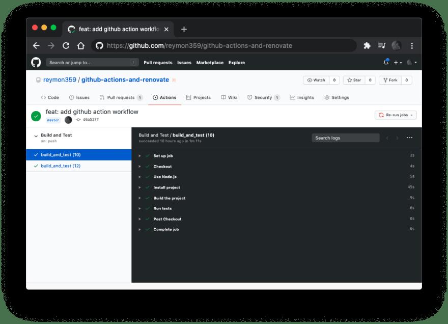 GitHub Actions Workflow