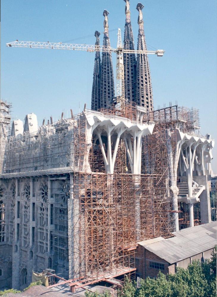 foto:Sagrada Família, em construção desde 1883
