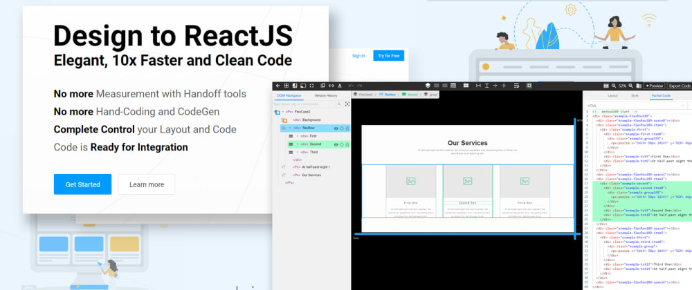 Cover image for Best Visual Code Editor for ReactJS in 2020  (Let's try it before the year ends)