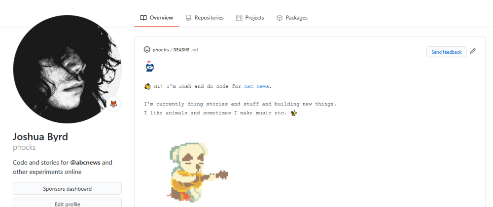Cover image for How to make a GitHub profile README