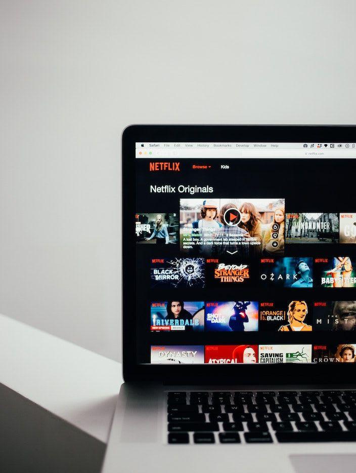 Netflix main page