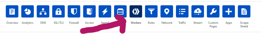 Click Workers tab