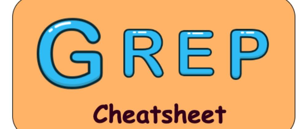 Cover image for Grep cheatsheet